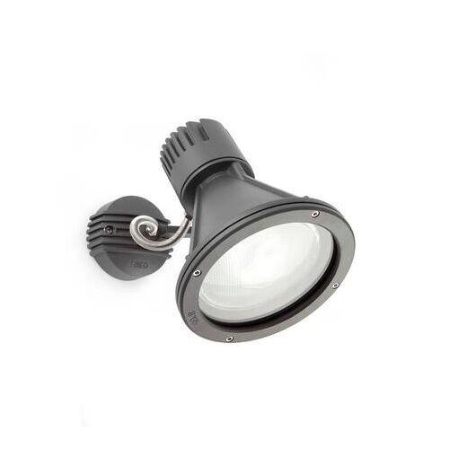Lorefar (FARO) Außenstrahler Aluminium PROJECT Ø16,5cm E27 PAR38 IP65 - anthrazit