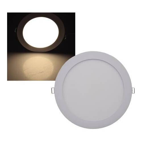 CHILITEC LED Panel rund Chilitec QCP-22R 18W 22,5cm warmweiß 2900K EEK:A+