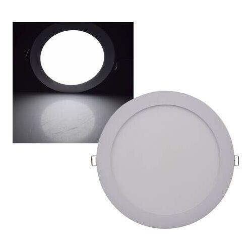 CHILITEC LED Panel rund Chilitec QCP-22R 18W 22,5cm neutralweiß 4200K EEK:A+