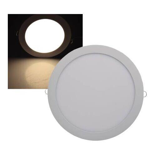 CHILITEC LED Panel rund Chilitec QCP-30R 24W 30cm warmweiß 2900K EEK:A+