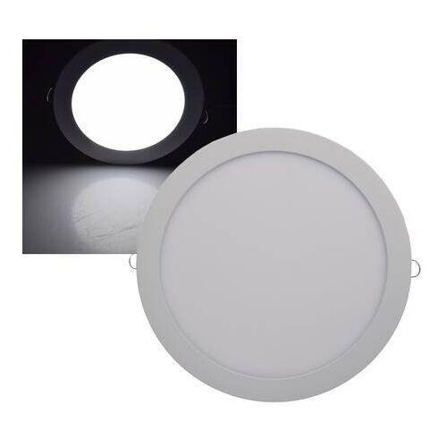 CHILITEC LED Panel rund Chilitec QCP-30R 24W 30cm neutralweiß 4200K EEK:A+