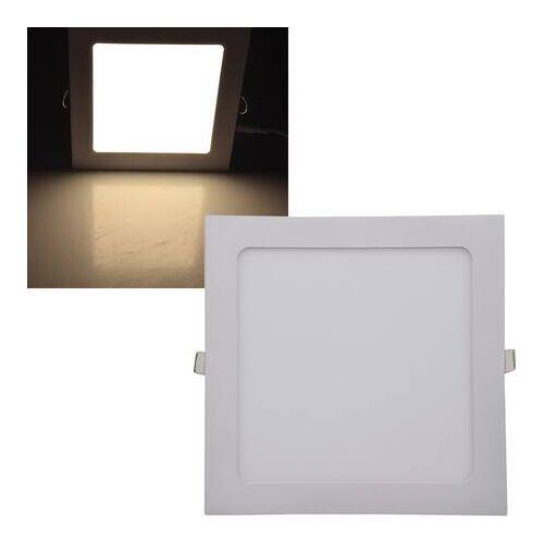 CHILITEC LED Panel eckig Chilitec QCP-22Q 18W 22,5cm warmweiß 2900K EEK:A+