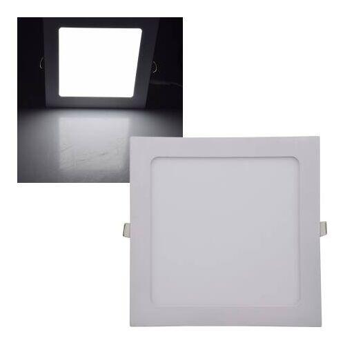 CHILITEC LED Panel eckig Chilitec QCP-22Q 18W 22,5cm neutralweiß 4200K EEK:A+