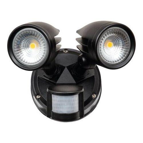 HEITRONIC LED Wandleuchte mit Bewegungsmelder Heitronic MERIDA 26W 1872lm EEK:A