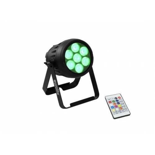 EuroLite LED PAR 7 QCL Akku Scheinwerfer
