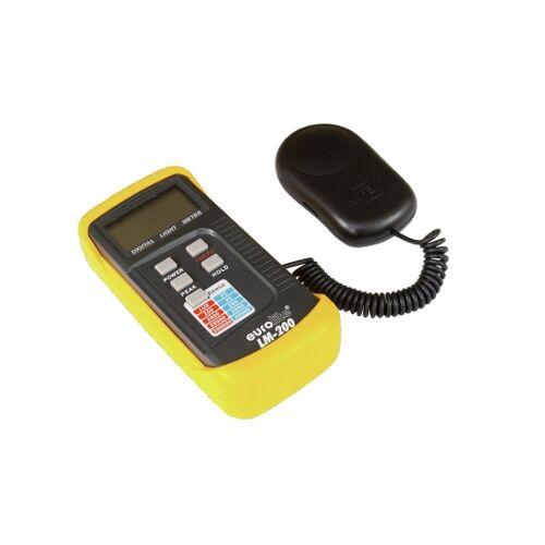 EuroLite LM-200 Digital Luxmeter Lichtstärkemessgerät