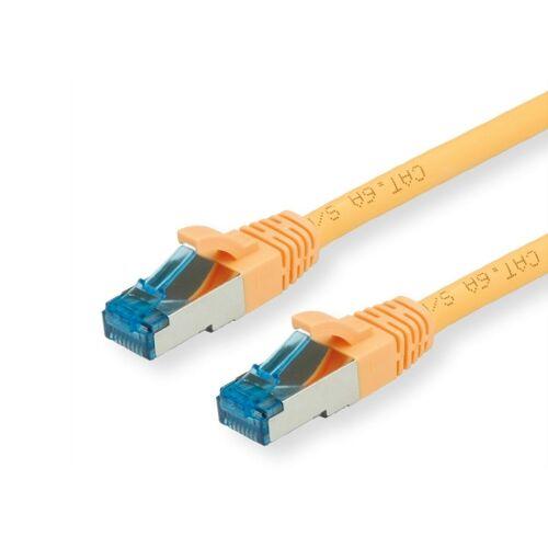 Value CAT6A-Netzwerkkabel, S/FTP, 20m, gelb