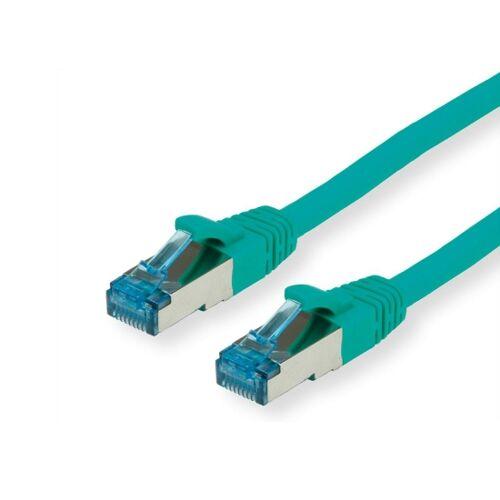 Value CAT6A-Netzwerkkabel, S/FTP, 15m, grün