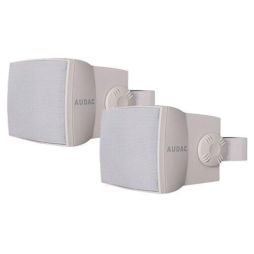 Audac WX 302 OW ELA Outdoor Lautsprecher 2er Set, weiß
