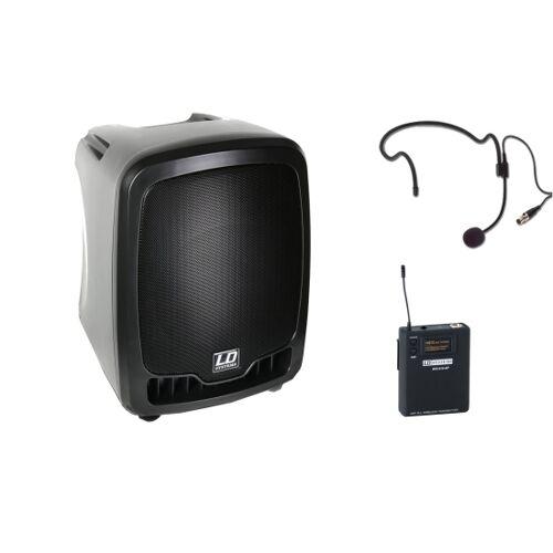 LD Systems Roadboy 65 Akku Lautsprecher, Headset
