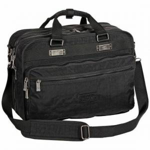 camel active Journey Aktentasche 43 cm Laptopfach schwarz