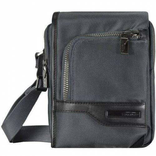 Samsonite GT Supreme Umhängetasche 18 cm grey black