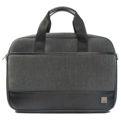 Knomo Princeton Laptoptasche RFID 41 cm Laptopfach grey