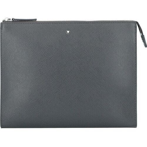 Montblanc Montblanc Sartorial Herrenhandtasche Leder 27 cm grey