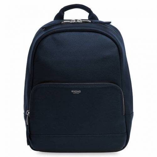 Knomo Mini Mount City Rucksack Leder 30 cm dark navy