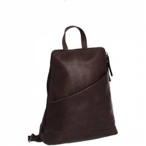 The Chesterfield Brand Wax Pull-Up Claire City Rucksack Leder 29 cm braun