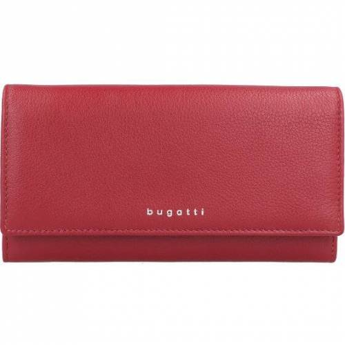 Bugatti Lady Top Geldbörse Leder 20 cm rot