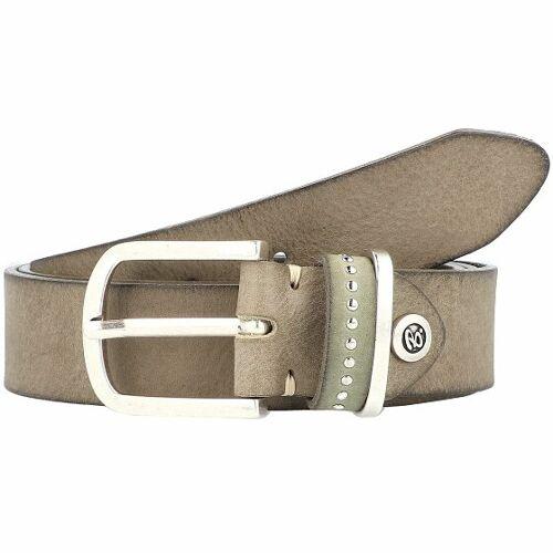 b.belt Fashion Basics Cleo Gürtel Leder olive 90 cm