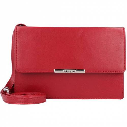Esquire Helena Clutch Geldbörse RFID Leder 17,5 cm rot