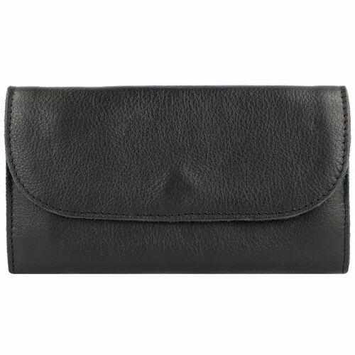 Cowboysbag Limar Geldbörse Leder 19,5 cm black