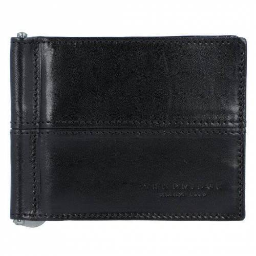 The Bridge Vespucci Geldbörse Dollarclip Leder 11 cm nero