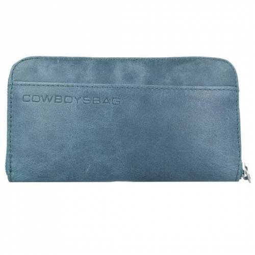 Cowboysbag The Purse Geldbörse Leder 19,5 cm petrol
