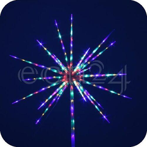 FDL LED Stern 80 LEDs 60cm mit Feuerwerkeffekt