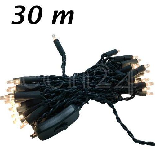 FDL Lichterkette mit traditionellen Glühlämpchen