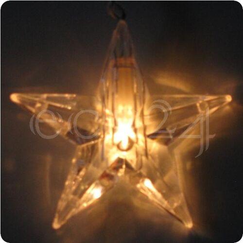 Best Season Lichterkette Sternenkette als Vorhang 20 Sterne