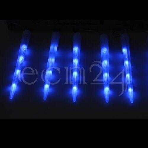 Kaemingk LED Eiszapfen Lichterkette mit RGB Farbwechsel