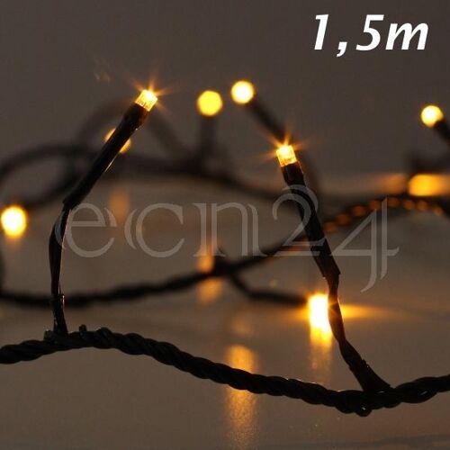 Kaemingk LED Lichterkette Glow warmweiß für Tannenbaum