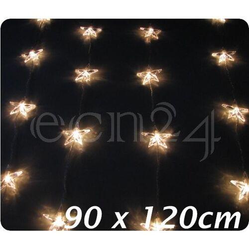 Best Season Lichterkette Sternenkette Vorhang mit 30 Sternen