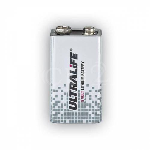 GEV Ultralife 9V Lithium 10 Jahres Batterie
