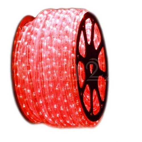 FDL 1 Meter LED Lichtschlauch als Meterware rot