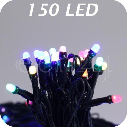 FDL LED Lichterkette mit Farbwechsel Bunt Warmweiss