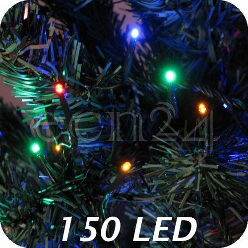 FDL LED Lichterkette mit Farbwechsel Bunt - Warmweiss