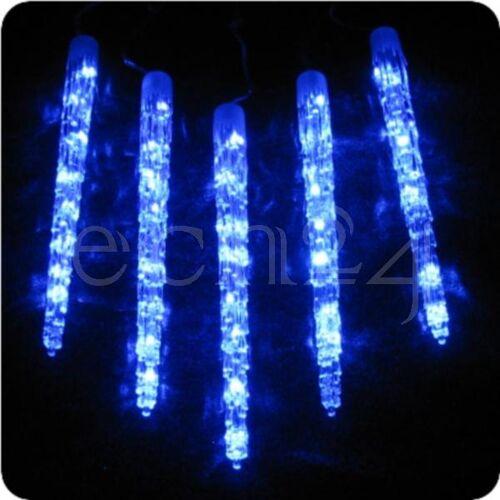 FDL LED Lichterkette mit 50cm Eiszapfen und 6 Effekten