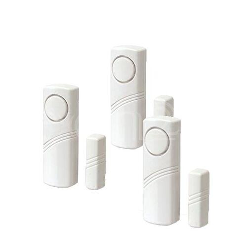 EDCO Alarm für Fenster 3er Set als Mini Alarmanlage