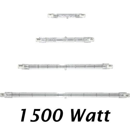 Kanlux Halogenstab Halogenlampe 1500 Watt R7s 254mm