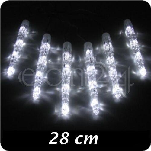Kaemingk LED Lichterkette mit Eiszapfen und Lauflicht
