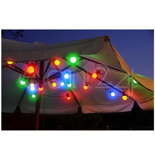 HI Lichterkette Partylichterkette 9,5m 20 LED Lampen