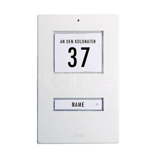 M-E B-Ware Türklingel Klingel aus Aluminium in weiß