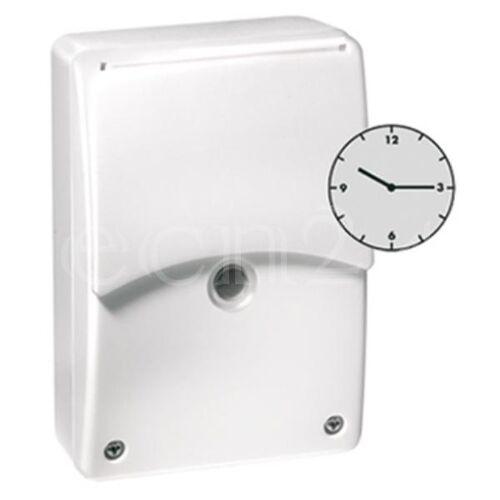 EsyLux Dämmerungsschalter CDS-A/T mit Zeitschaltuhr