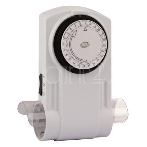 REV Mechanische Zeitschaltuhr mit 2 fach Steckdose