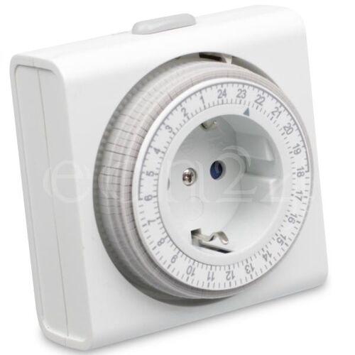 REV Mechanische Zeitschaltuhr als Zwischenstecker