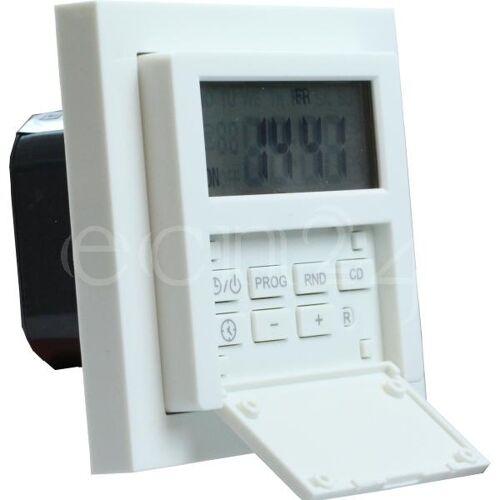GAO Zeitschaltuhr Unterputz mit Wochenprogramm 1800W