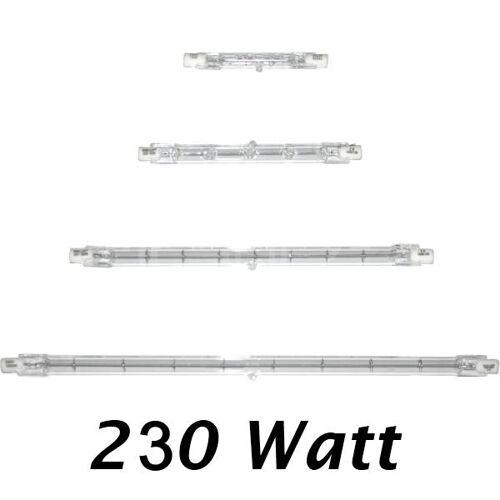 Müller Licht Halogenstab 230 Watt R7s 118mm lang