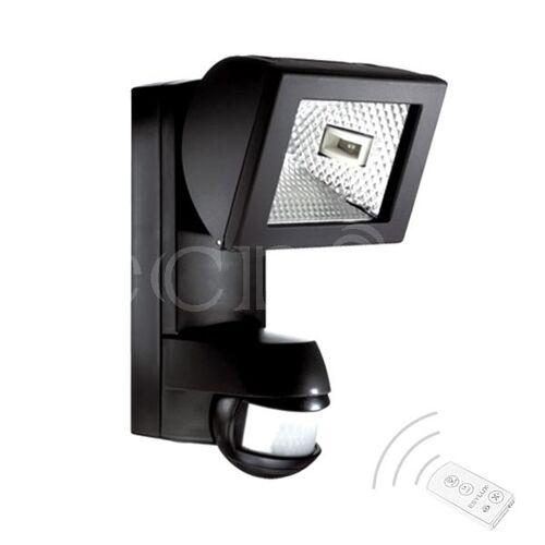 EsyLux Halogenstrahler AF 150/200i schwarz fernbedienbar