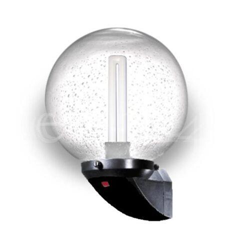 B.E.G. Außenlampe mit Kugelglas und 9W 2G7 Leuchtmittel