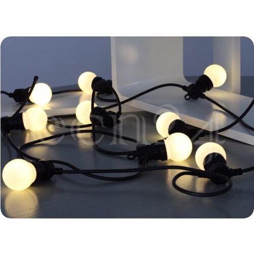 FDL Partylichterkette 12m mit 20 LED Lampen